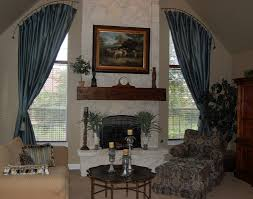 arched curtain rod for windows u2014 the homy design