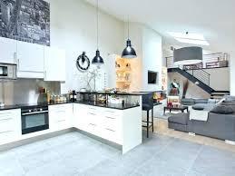 cuisine avec carrelage gris carrelage salon cuisine pour idees de deco de cuisine carrelage gris