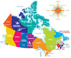 canadian map with great lakes how well do you canadian geography explore awesome