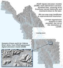 Southeast Alaska Map Ifsar The Southeast U0027big Picture U0027
