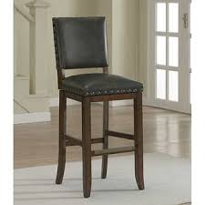 bar stools wood and leather merry leather counter height bar stools barstools costco torrie 26