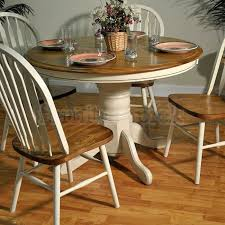 antique round dining table antique white and oak round dining table dining tables dining round
