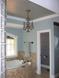 figuring a chandelier in the bathroom joseph episcopo u0026 sons