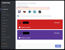 discord youtube integration i can t seem to able to connect my battle net steam or skype