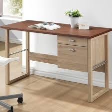 White Contemporary Desks by Safavieh Berkly White And Chrome Desk With Storage Fox2200a The