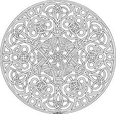 printable geometric coloring pages adults designs