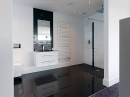 Bathroom Ensuite Ideas Contemporary Black And White Ensuite Contemporary Bathrooms