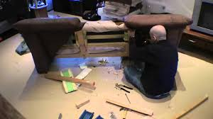 Make A Sofa by How To Make A Sofa Smaller Time Lapse Panasonic Sd700 Youtube