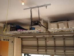 How To Build Garage Storage Lift by Garage Ceiling Storage Lift Installing Garage Ceiling Storage