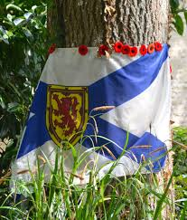 Picture Of Nova Scotia Flag The Bayeux Tapestry And The German Atrocities At Abbeye D U0027ardenne