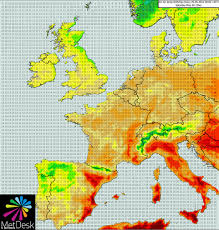 Map Of Spain And Portugal Uk Weather This Bank Holiday To Sizzle With Temperatures As As