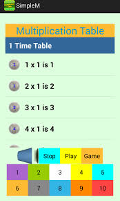 15 Multiplication Table Multiplication Table 1 10 Android Apps On Google Play