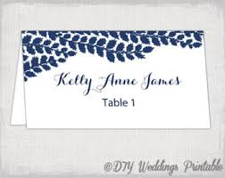 Table Card Template by Gold Place Card Template Chevron Name Cards Diy