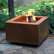 wood burning fire table modern wood burning fire pit nature house