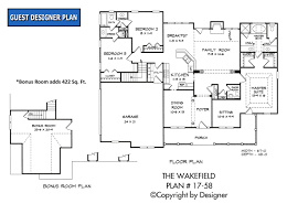 home plans ranch wakefield house plan house plans by garrell associates inc