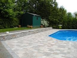 pool deck pavers crowley landscaping