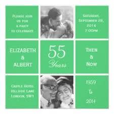 55th wedding anniversary damask 55th wedding anniversary greeting card emerald wedding