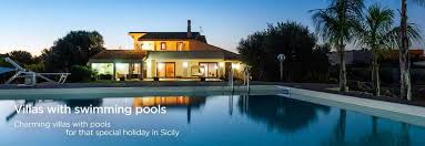 villas in sicily holiday villas and houses with pool in sicily