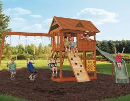 big backyard carolina clubhouse swingset installer nj the