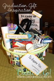 graduation gift baskets graduation gift to inspire create it go