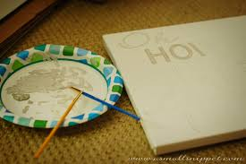 Diys To Do At Home by Easy Diy Handpainted Canvas A Small Snippet