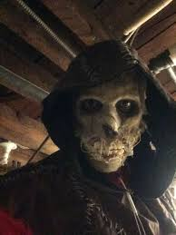halloween 5 mask scarecrow build mask arkham scarecrow pinterest