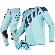 fox motocross gear combos fox racing new 2016 mx le ken roczen seca flexair ice blue aqua