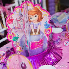 sofia the first chair deco diy party city