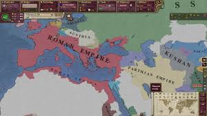 Map Of Central Asia Roman Empire Parthian Empire Arabia And Some Of Central Asia In