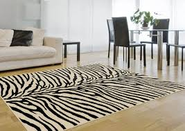 White Living Room Rug by Beautiful Zebra Area Rug U2014 Home Ideas Collection