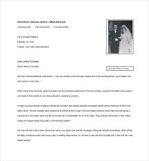 6 love letter templates free sample example format free