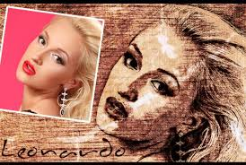 turn your photo into sketch leonardo style by saitastudio