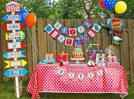 manju u0027s eating delights carnival themed birthday manav turns 4
