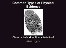 pattern physical evidence alissa higgins forensics physical evidence on flowvella