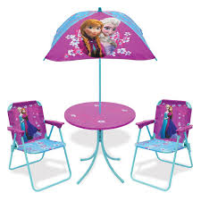 Patio Table Set With Umbrella by Disney Frozen Patio Table Chairs And Umbrella Set
