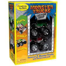 monster truck custom shop kit creative kidstuff