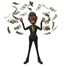 Imagenes Negro Rico | hombre de negocios negro rico stock de ilustración ilustración de