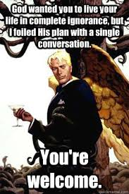 Single Guy Meme - lucifer is a good guy memes religious forums