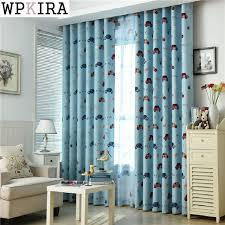 Teal And Beige Curtains Aliexpress Com Buy Customized Cartoon Blackout Curtains For Kids