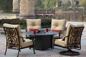 Outdoor Furniture With Fire Pit Table by Santa Anita Jpg