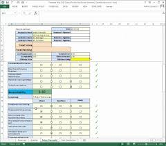 performance review using excel youtube employee evaluation form