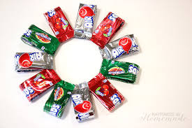 candy wreath airheads christmas candy wreath happiness is
