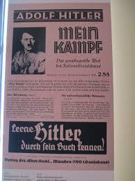 file poster of mein kampf in villa wannsee jpg wikimedia commons