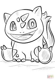 bulbasaur coloring pages bulbasaur pokemon coloring free