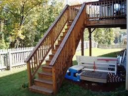 Handrail Height For Decks Installing Deck Stair Railing Ideas U2014 All Home Design Ideas