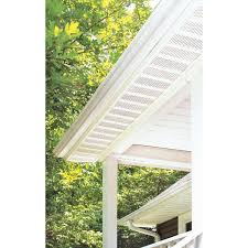georgia pacific t4 fully vented vinyl soffit 423590 do it best