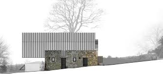 elevation barn conversion in broughshane northern ireland