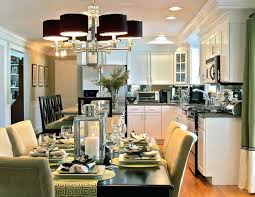 family kitchen dining room designs the trick with the christmas