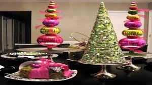 modern tabletop decor diy christmas table decoration ideas dollar