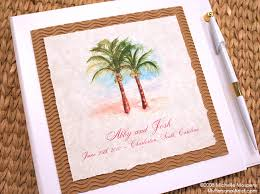 wedding guest books tropical wedding guest books tropical wedding guest book